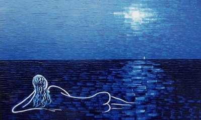 Biển và em, biển và trăng, nỗi nhớ