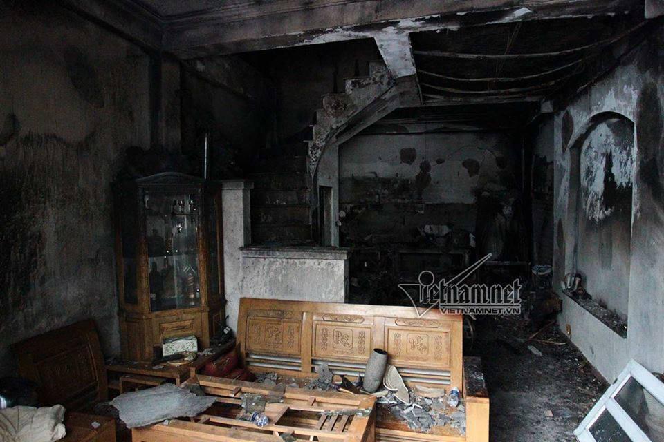 cháy nhà,cháy lớn,hỏa hoạn,cháy nhà 4 tầng ở Hà Nội