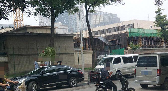 Sứ quán Triều Tiên tại Bắc Kinh xây cao ốc mới