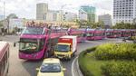 Chạy thử xe buýt du lịch 2 tầng ở Đà Nẵng