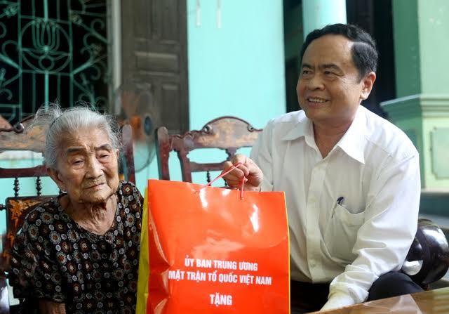 Trần Thanh Mẫn, Chủ tịch MTTQ Việt Nam, mộ Đại tướng, Võ Nguyên Giáp