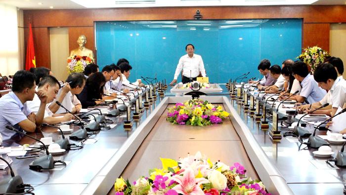 Bộ TT&TT tập trung đẩy mạnh công tác xây dựng VBQPPL