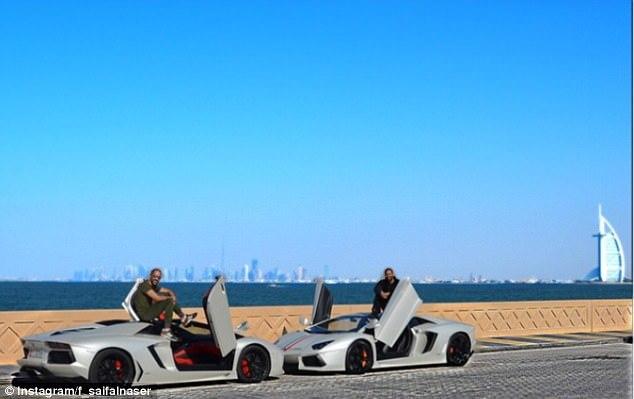 con nhà giàu, Ả rập Saudi, siêu xe, thú cưng