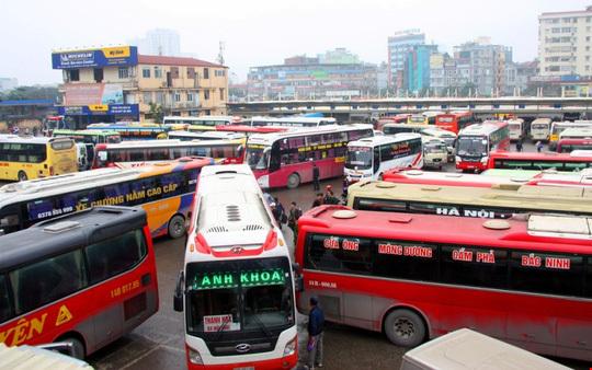 Điều chuyển xe khách, bến xe Mỹ Đình, Giáp Bát, Nước Ngầm, UBND TP Hà Nội
