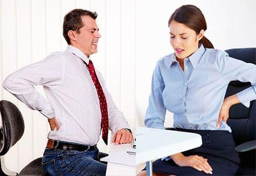 Đau lưng - chứng bệnh khiến giới văn phòng khốn khổ