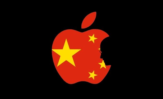 apple, trung quốc