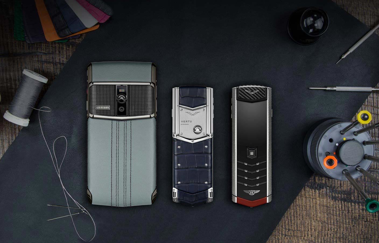 Vertu, Nokia, Điện thoại Vertu