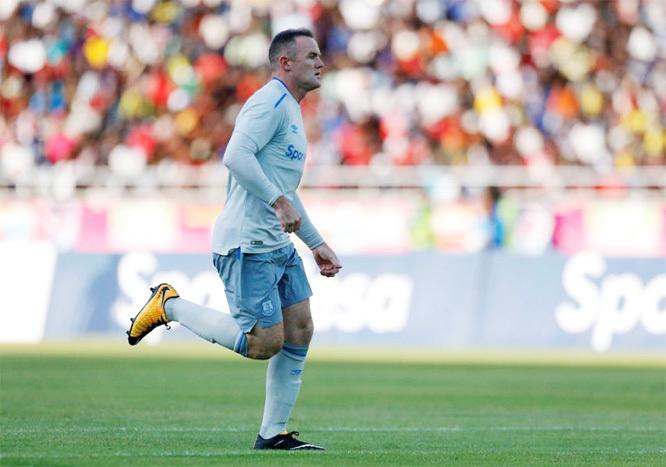 Rooney 'nổ' siêu phẩm tuyệt đẹp ngày trở lại Everton