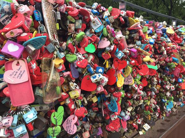 khóa tình yêu, seoul