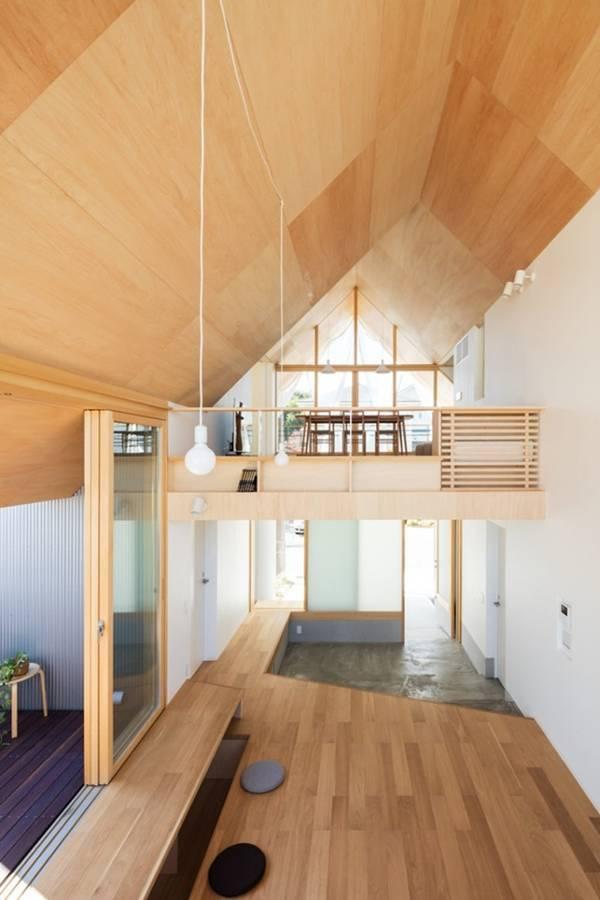nhà cấp 4, thiết kế nhà, nhà đẹp, Nhật Bản
