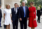 Ông Trump khen vợ Tổng thống Pháp 'thân hình đẹp'