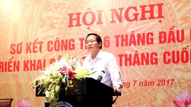 Bộ TT&TT,Trương Minh Tuấn