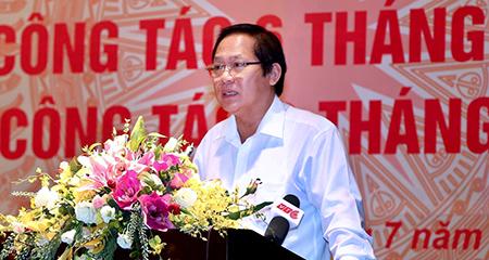 Quản lý TTTT góp phần xây dựng Chính phủ liêm chính, kiến tạo