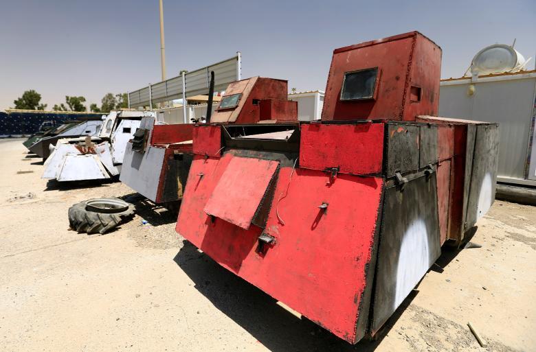 IS, đánh bom liều chết, thành cổ Mosul