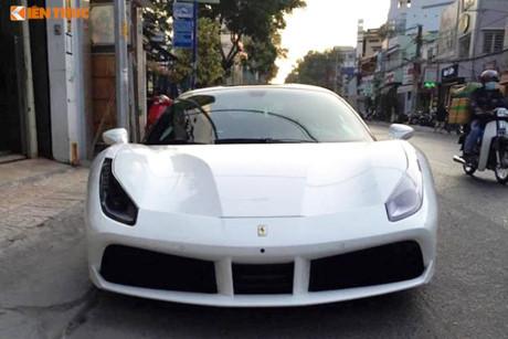 Ferrari 488 GTB 16 tỷ của Cường Đô la 'làm dâu' Tiền Giang