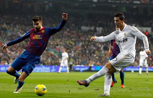 Ronaldo, Real, Pique, tin thể thao, MU