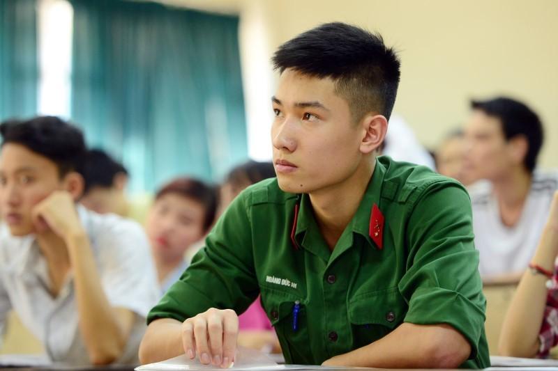 Các trường quân đội công bố mức điểm nhận hồ sơ năm 2017