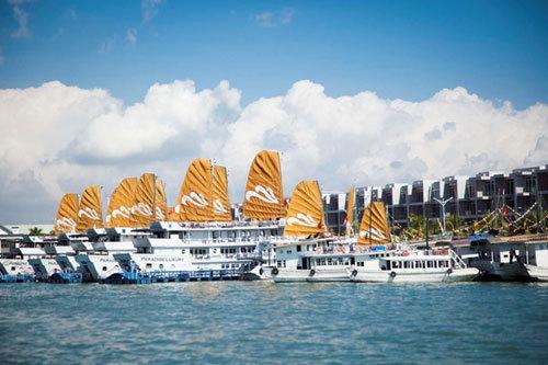 Duy nhất Tuần Châu Marina sở hữu cảng du lịch quốc tế