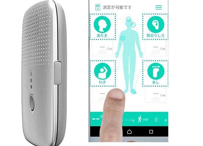 smartphone,ứng dụng smartphone,mùi cơ thể