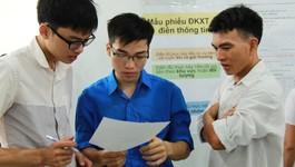 Thí sinh xét tuyển học bạ không cần đăng ký trực tuyến hay đến trường