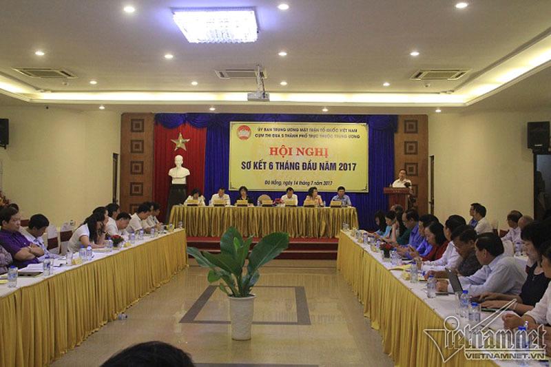 Sơn Trà, Đồng Tâm, Tân Sơn Nhất, Ông Trần Thanh Mẫn, Mặt trận Tổ quốc Việt Nam