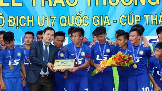 Hạ Viettel, PVF vô địch giải U17 Quốc gia