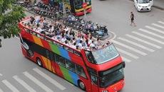 Du khách chen lên xe buýt 2 tầng ngắm phố Đà Nẵng