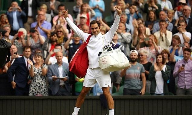 Wimbledon 2017,tennis đơn nam,Roger Federer