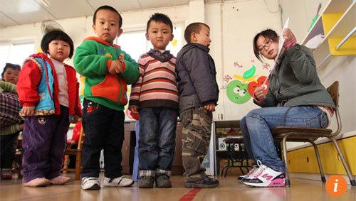 con nhà giàu, Trung Quốc, du học Mỹ, mẫu giáo