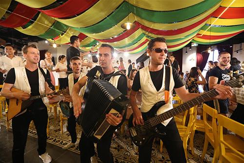 Lễ hội bia B'estival trên đỉnh Bà Nà Hills