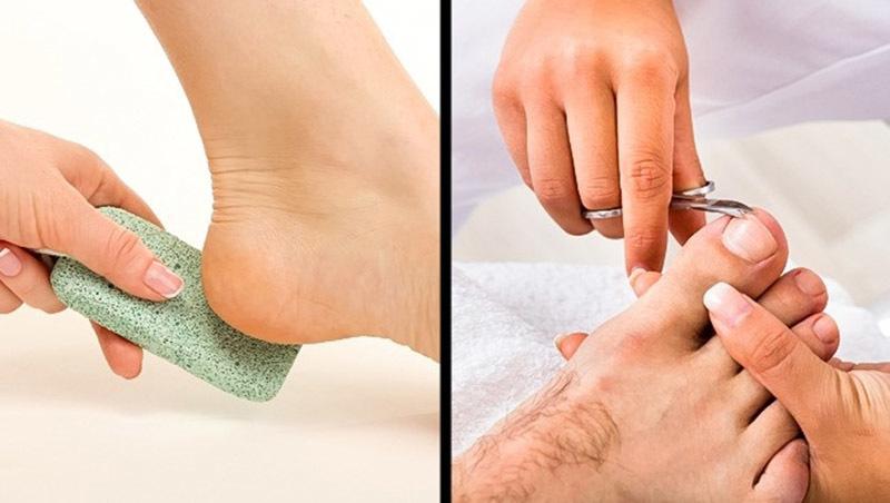 11 cách giúp đánh bay mùi hôi chân