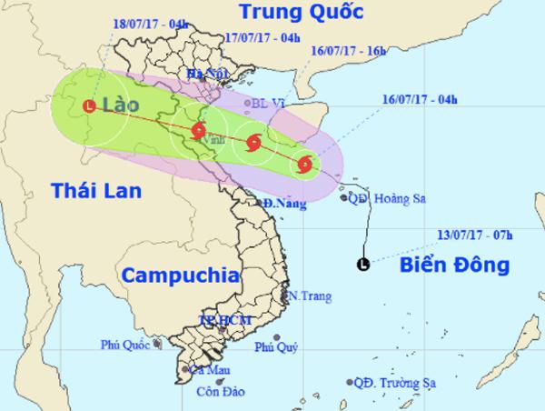 dự báo thời tiết, áp thấp nhiệt đới, tin bão mới nhất, cơn bão số 2, bão số 2, Bão Talas