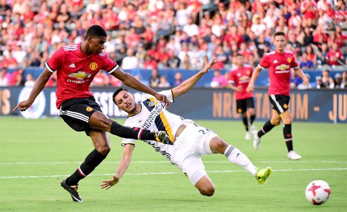 MU, LA Galaxy, giao hữu quốc tế, Lukaku
