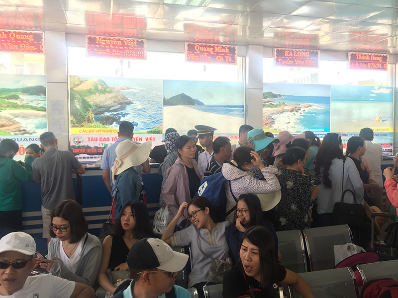 Bão số 2: Hơn 3.500 du khách mắc kẹt ở đảo Cô Tô