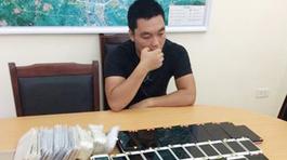 Bắt ô tô chở lô điện thoại trên 1 tỷ đồng ở Quảng Ninh