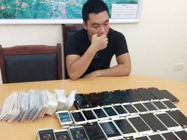 buôn lậu, điện thoại, Quảng Ninh