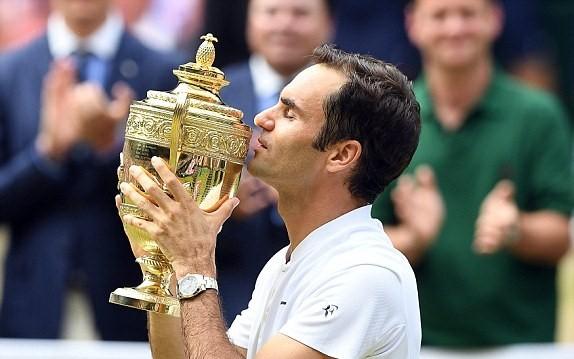 Wimbledon 2017,tennis đơn nam,Roger Federer, Marin Cilic