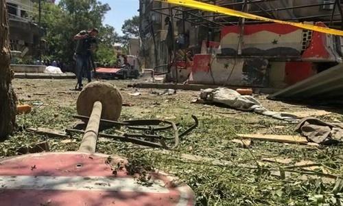 Sứ quán Nga ở Syria trúng đạn pháo