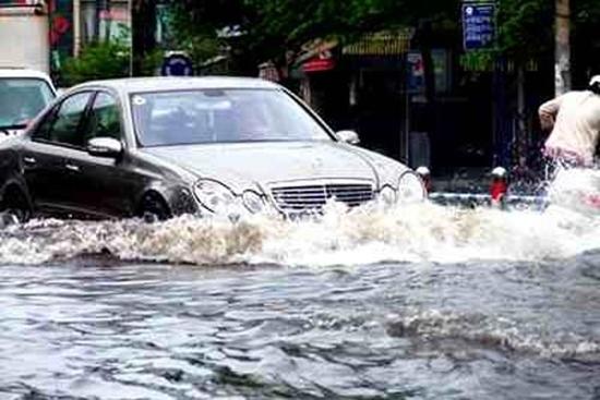 xe ngập nước, bảo dưỡng ô tô, kỹ năng lái xe