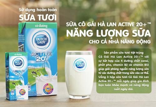 3 tiêu chí chọn sữa cho cả nhà năng động