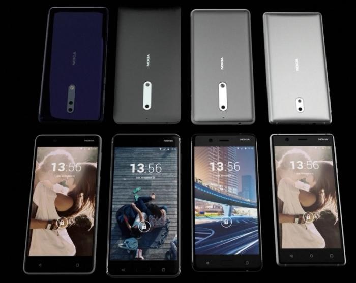 Nokia, Nokia 8, Điện thoại Nokia