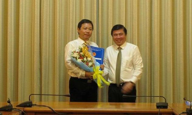 bổ nhiệm, Nguyễn Thành Phong, TP.HCM, Dương Anh Đức
