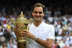 Lập kỷ lục vô địch Wimbledon, Federer lên số 3 thế giới