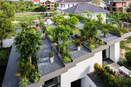 nhà đẹp, ngôi nhà xanh, kiến trúc xanh