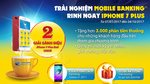 Dùng Nam A Bank Mobile Banking mới, 'rinh' Iphone 7 Plus
