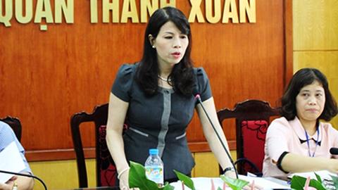 Người chở Phó chủ tịch quận Thanh Xuân xin nộp phạt