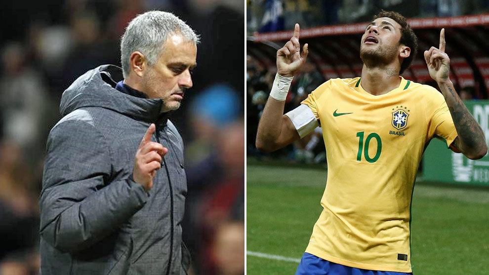 MU, Mourinho, Neymar, Barca