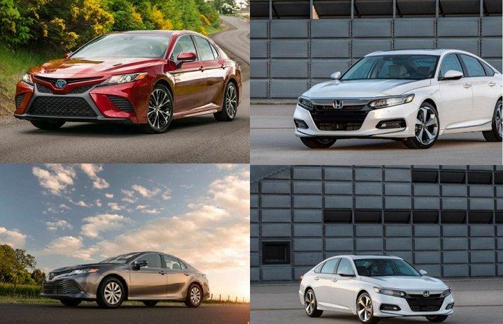 Honda Accord 2018, Toyota Camry 2018: Đối đầu không khoan nhượng