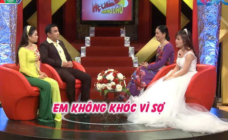 mẹ chồng nàng dâu, MC Quyền Linh, MC Lê Lộc, mâu thuẫn gia đình