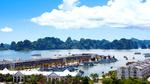 Ngắm du thuyền Hạ Long từ ban công Shophouse Tuần Châu Marina